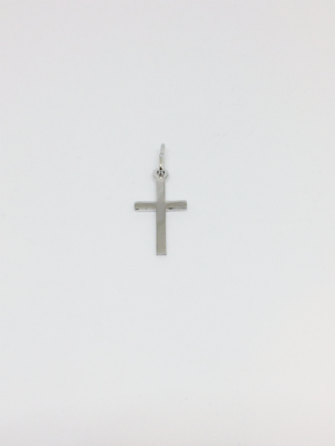 Silver 21mm Cross Pendant